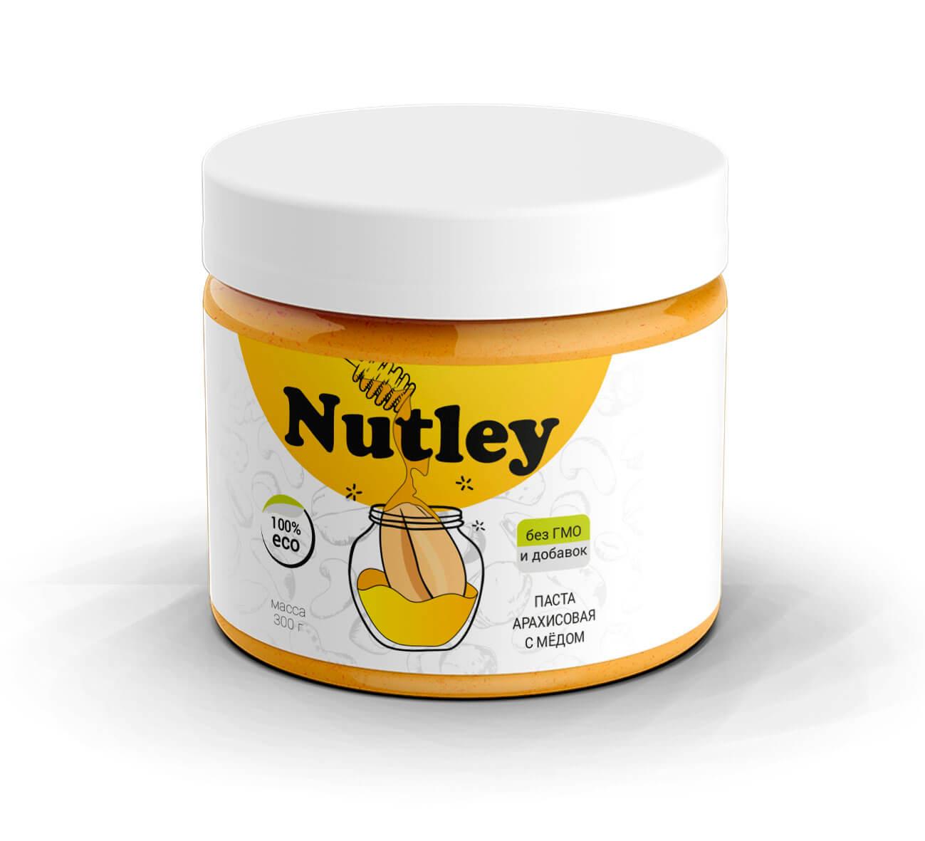 Арахисовая паста с медом Nutley