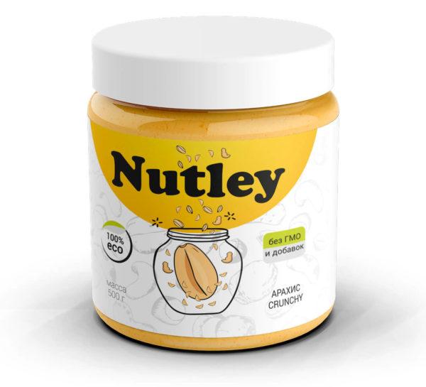 арахисовая паста Nutley 500г