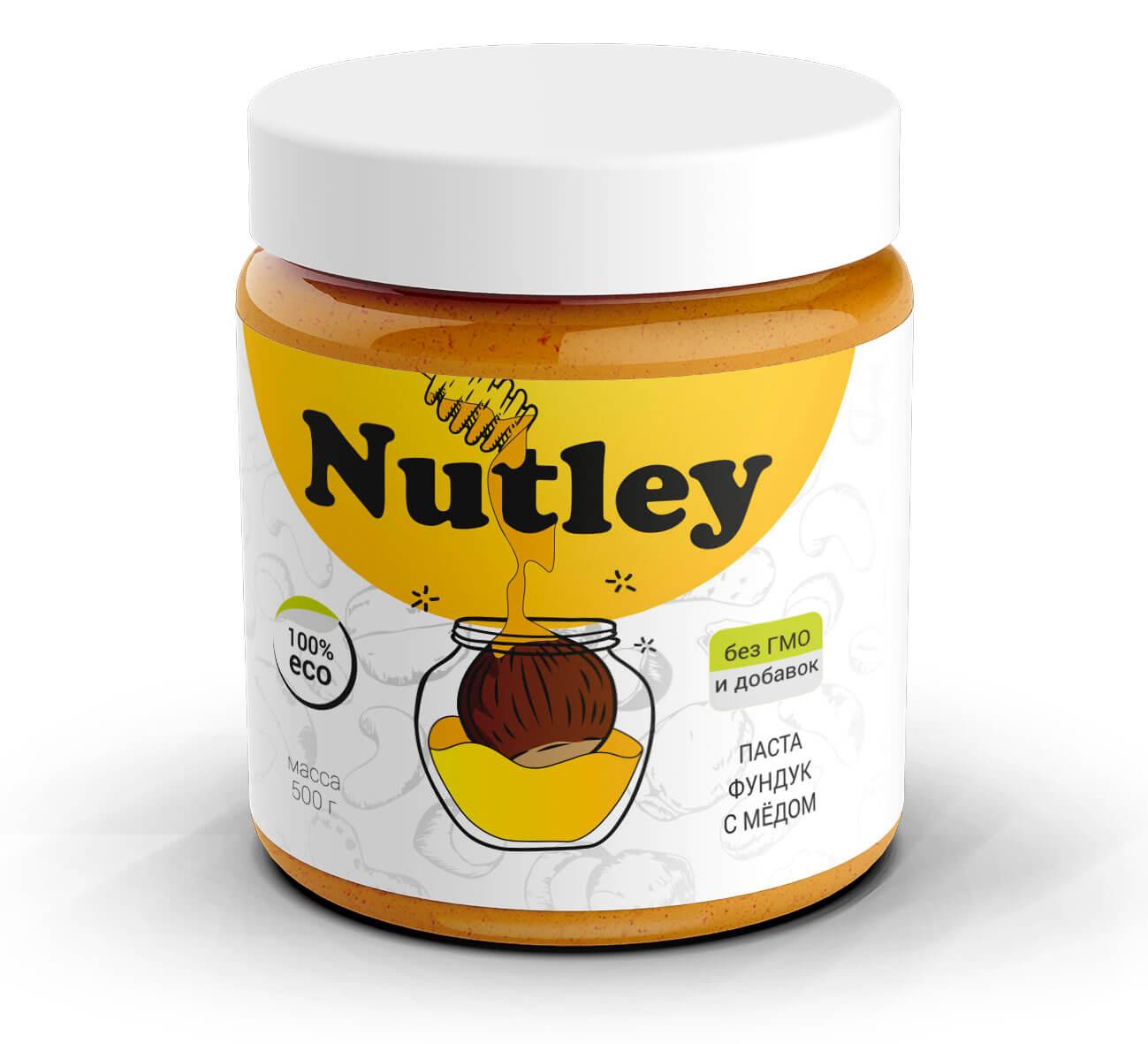 Фундуковая паста с медом Nutley