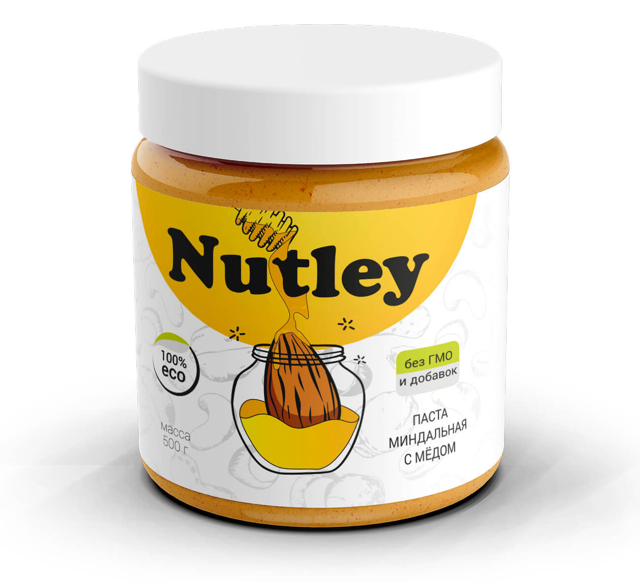 Миндальная паста с медом Nutley