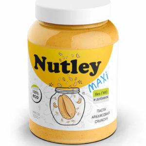 Арахисовая паста Nutley Crunchy (Хрустящая)