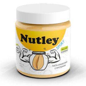 Арахисовая паста с протеином Nutley