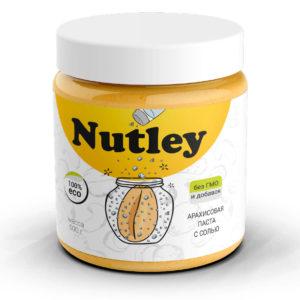 Арахисовая паста Nutley с морской солью