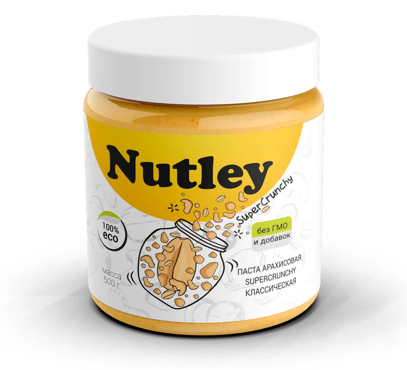 Арахисовая паста SuperCrunchy (классическая) Nutley