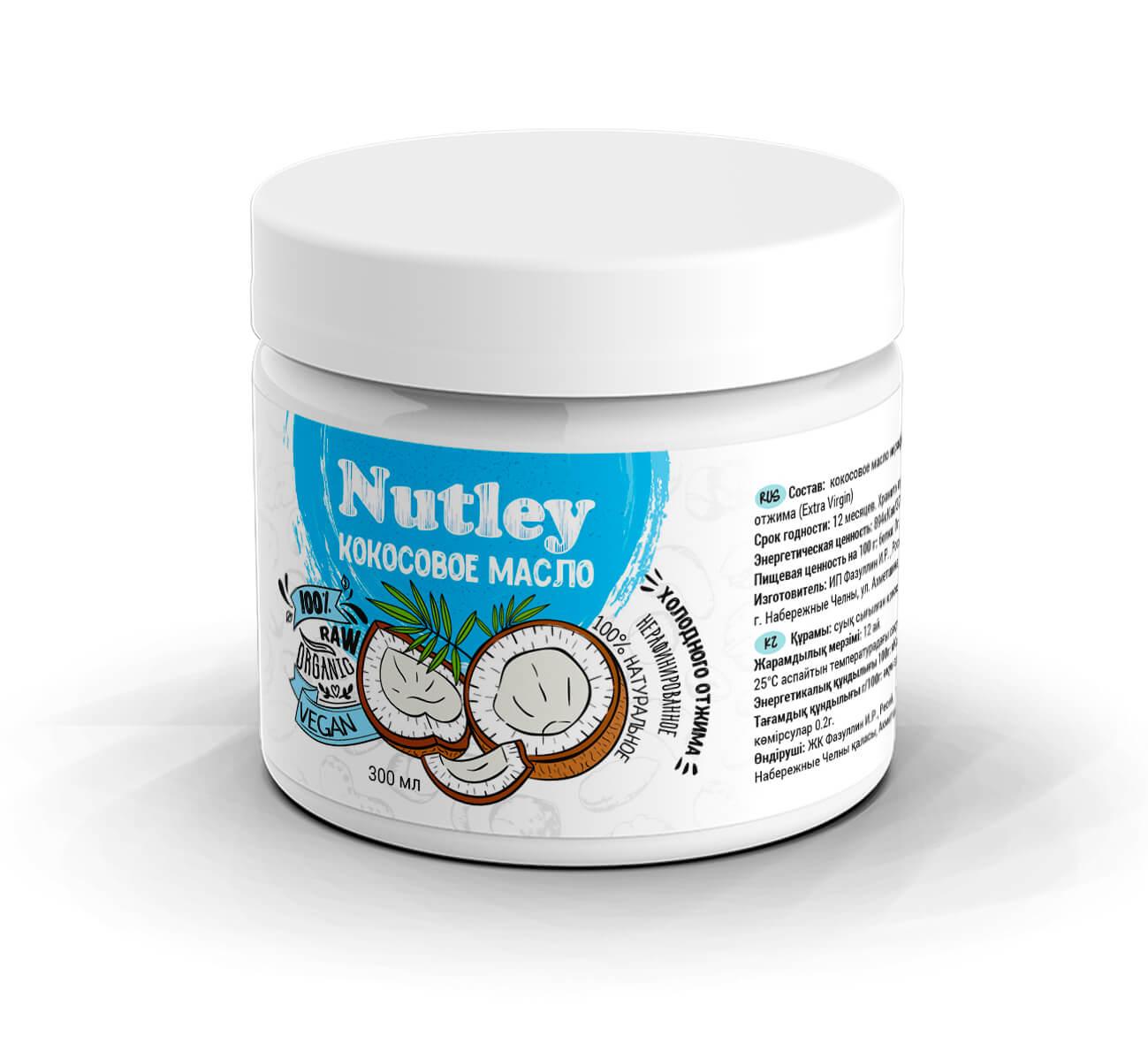 Coconut кокосовое масло Nutley
