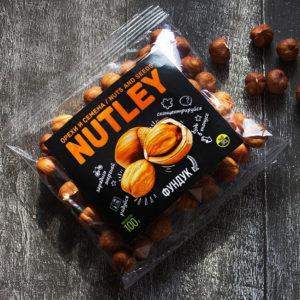 """Орехи фасованные Nutley """"Фундук"""""""