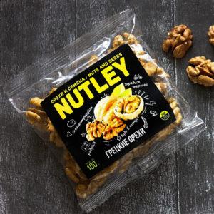 """Орехи фасованные Nutley """"Грецкие орехи"""""""